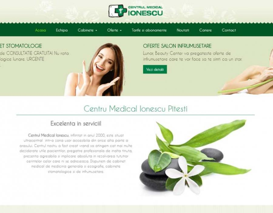 realizare site centru medical