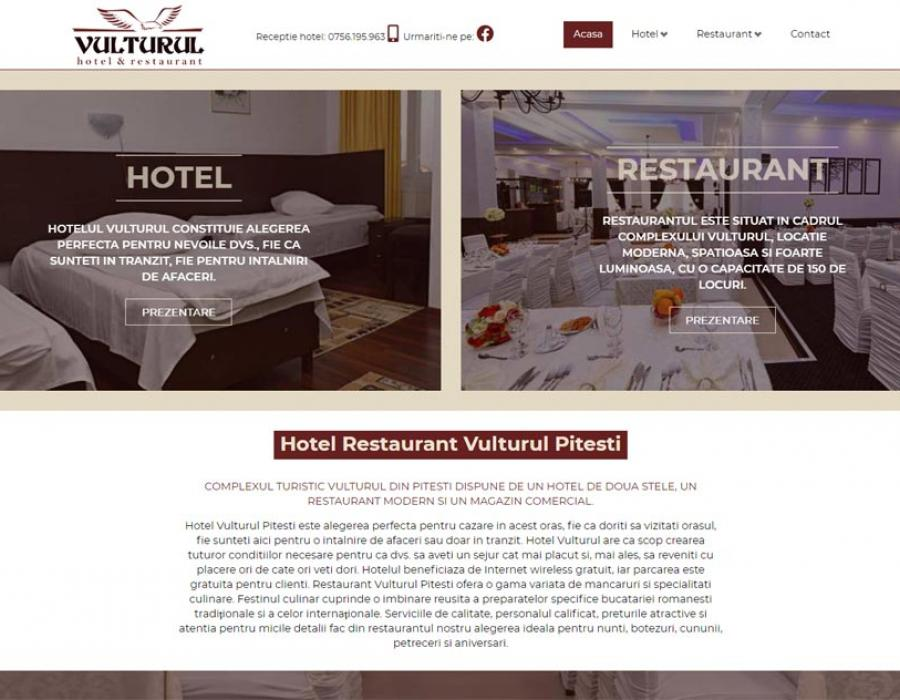 Site Hotel Restaurant Vulturul